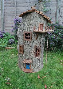 Click on the link to see amazing woodworking by Olliewood of the UK.  Love the fairy house.  There are also videos that show the process.