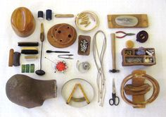 """SUBMISSION: Tools of the hat trade…  from """"Things Organized Neatly"""""""
