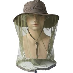 Outdoor Quick Drying Fishing Hats fishing cap with Mosquito net waterproof Anti-UV Mosquito Sun Cap sun hat for fishing cap M10