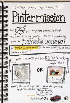 Pintermission by Honda® [Image1]