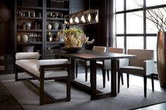 Wondering how to create the perfect dining room? All the dining room inspiration that you need to your interior design project are on this board. Take a look and let you inspiring! See more clicking on the image. Dining Room Inspiration, Interior Design Inspiration, Design Ideas, Modern Flooring, Dark Interiors, Interior Architecture, Interior Decorating, Furniture, Home Decor