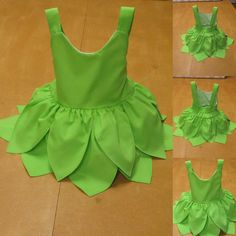 Baby dress, Tinkerbell inspired baby dress, baby dress tinkerbell birthday, tinkerbell baby dress costume Perfect to any occasion first skirt with shiny organza fabric at the top, and at the bottom it has two frills so that the dress becomes wider Tinkerbell Costume Kids, Tinkerbell Dress, Baby Frocks Designs, Kids Frocks Design, Kids Dress Wear, Little Girl Dresses, Dress Girl, Kids Dress Up, Baby Dresses