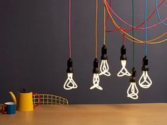 PLUMEN 001 Energy Saving Light Bulb $29.95 but it lasts 8 years and looks awesome!