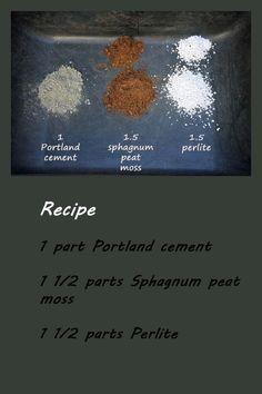 Martha Stewart Hypertufa Recipe - Bing Images