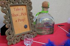 another Fiesta 40 Party. Their photo booth had lots of props and shots of tequila for liquid courage to take wacky photos