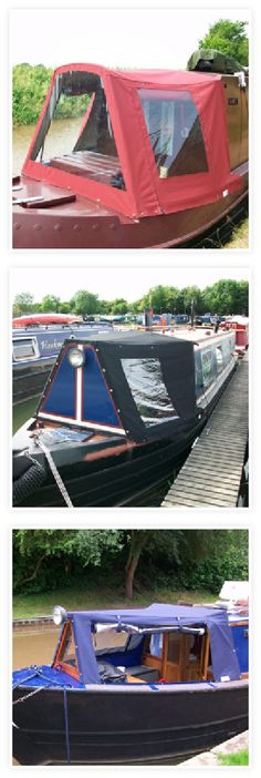 Cratch covers Canal Boat Interior, Houseboat Ideas, Narrowboat Interiors, Narrow Boat, Wood Boats, Boat Stuff, Boat Building, Best Interior, Outdoor Gear
