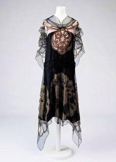 Dress by Jeanne Lanvin ca 1924