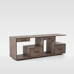 Ledge Media Console #westelm (Love this)(Gabe)