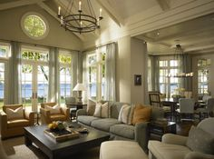 Wisconsin lake house inspired by movie 'Something's Gotta Give'