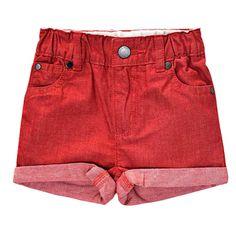 Stella McCartney Kids - Blake Baby Chambray Shorts