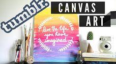 3 Pinterest Art DIYs - HGTV Handmade - YouTube