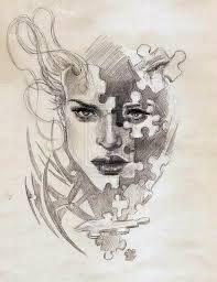 Risultati immagini per puzzle tattoo