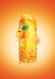 Natural Juice by Ibrahem Ashour, via Behance