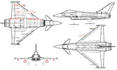 Plik:Eurofighter Typhoon line drawing. Delta Wing, Military Drawings, Line Drawing, Inventions, Fighter Jets, Aircraft, Cutaway, Product Sketch, Blue Prints