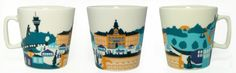 Kuopio muki (18,90€) Pint Glass, Beer, Mugs, Tableware, Root Beer, Ale, Dinnerware, Tablewares, Mug