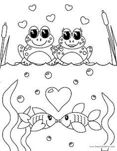 Smarty Pants Fun Printables: Valentines Coloring Page