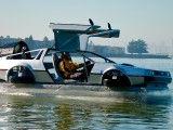 DMC Delorean als Luftkissenboot - SPIEGEL ONLINE
