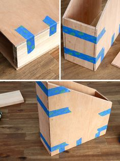Make Your Own Wooden Magazine Files