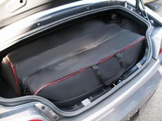 Custom Fitted Car Luggage For The Maximizes Trunk Space   Saving Your Car  From Unsigntly Roof Racks And Cargo Carriers