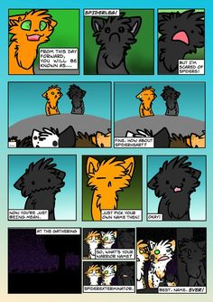 I think we can all take a word of advice on what love means from Ashfur. ----- There were originally going to more characters talking about the love of kits, their clan, parents, (So Squirrelflight...