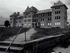 The abandoned former Peoria State Hospital (also known as Bartonville State Hospital, or the Illinois Asylum for the Incurable Insane). It opened in 1902 and closed in 1973. It is reported to be haunted