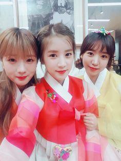 Chorong NamJoo & Bomi (A Pink) - Naver Starcast Update for...