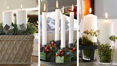 Er du lidt i tidsnød med hensyn til din adventskrans, kan du selv lave disse tre smukke dekorationer i en fart.