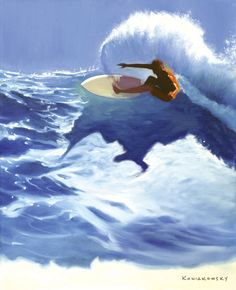 Chunks Painting by Artists Wade Koniakowsky #SurfArt
