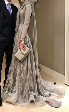 2018 Kınalık and Engagement Models . – WolkanS Hair Designer 2018 Kınalık and Engagement Models . Hijab Prom Dress, Hijab Gown, Hijab Evening Dress, Hijab Wedding Dresses, Muslim Dress, Modest Dresses, Dress Outfits, Evening Dresses, Prom Dresses