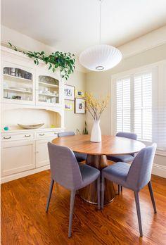 Modern Mid Century dining room