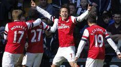 Arsenal battled to a crucial 2-1 victory over West Bromwich at the Hawthorns, despite Mertesacker's sending off in the 70th minute.