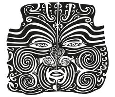 Maori Moko | Tattoo | New Zealand | Black and White