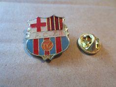 Old FC Barcelona Pin Badge