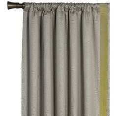 Eastern Accents Caldwell Garza Pebble Left Curtain Panel