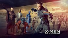 X Men X Men Days Of Future Past Wolverine Magneto Charles