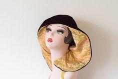 Vintage c 1940's Reversible Velvet and Silk by GracedVestige