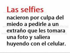 Como empezaron los selfies.