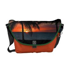 VI Sunset Medium Messenger Bag Love the colors on this bag!! and Beautiful Sunset.. Very nice in the Caribbean.   http://www.zazzle.com/vi_sunset_medium_messenger_bag-210779706557070209?rf=238129121004448320
