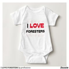 I LOVE FORESTERS TEE SHIRT