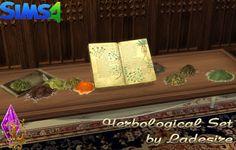 Ladesire Creative Corner: Herbological Set • Sims 4 Downloads