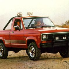 Ford Ranger - except with a lot more rust