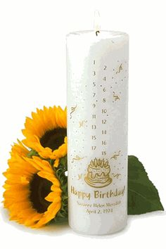 Great Idea For A Baby Shower Gift Or First Birthday Present Countdown Candle