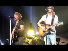 ▶ Bon Jovi & Kid Rock ~ Wanted Dead Or Alive ~ Auburn Hills 2010-03-17 - YouTube
