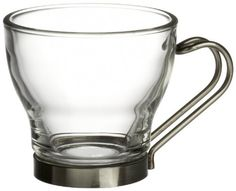 Bormioli Rocco Verdi Espresso Cup With Stainless Steel Handle Set of 8 Gift Boxed >>> Find out more about the great product at the image link.