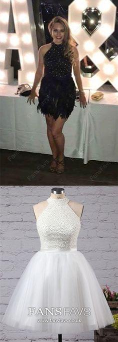 Ball Gown Formal Dresses Short, Black Formal Dresses For Teens, Tulle Formal Dresses High Neck, Gorgeous Formal Dresses With Beading Modest Formal Dresses, Vintage Formal Dresses, Formal Dresses For Teens, Black Prom Dresses, Formal Dresses For Weddings, Short Dresses, Formal Gowns, Classy Homecoming Dress, Designer Prom Dresses