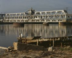 You know you're close to Nauvoo once you cross this awesome bridge in Fort Madison---have your toll money ready.