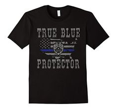 Men's Police T Shirt Gift-True Blue Protector USA Small Black Shoppzee Firefighter, Police & Law Enforcement Tee http://www.amazon.com/dp/B01DE6FPOW/ref=cm_sw_r_pi_dp_YFycxb0QRC1TB