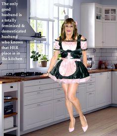 Many maid apron chores femdom