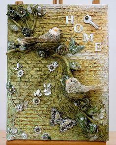 Birds...made by Irene Wijnands Porebski