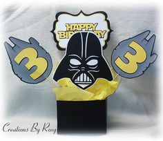 Star Wars Darth Vader Centerpiece by CreationsbyRoxy on Etsy